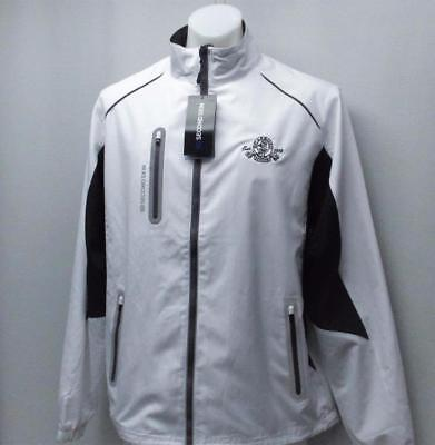 New Mens LARGE Second Skin Hydrawick long sleeve golf jacket Scarboro G&CC