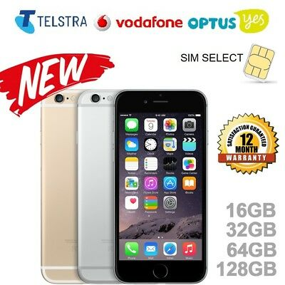 NEW Apple iPhone 5s, iPhone 6, iPhone 6s in 16GB, 32GB, 64GB, 128GB UNLOCKED WTY