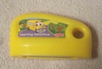Fisher Price SMART CYCLE GAME CARTRIDGE Learning Adventure Yellow K5054