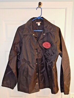 Spokane, Portland & Seattle Ry. Lightweight Jacket Black Medium Used