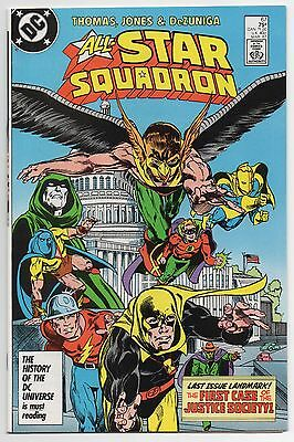 ALL-STAR SQUADRON #67 | Final Issue | 1st Justice Society Case | 1987 | VF/NM