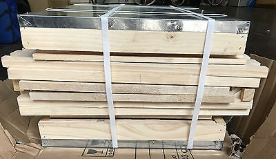 BEEHIVE BEE BOX DOUBLE LEVELS BEE SUPER NEW ZEALAND PINE HIVE Brooding boxes