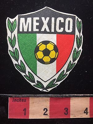 Country Of MEXICO Football (Soccer) Patch Emblem 72UU