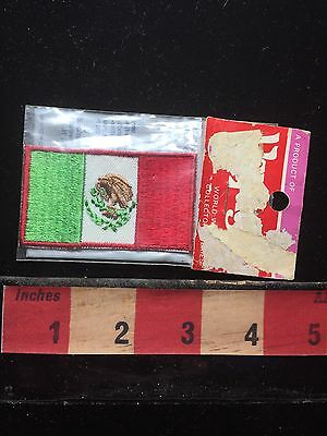 Voyager Brand AS-IS (damage Pkg) Country Of MEXICO Flag Patch Emblem 72UU