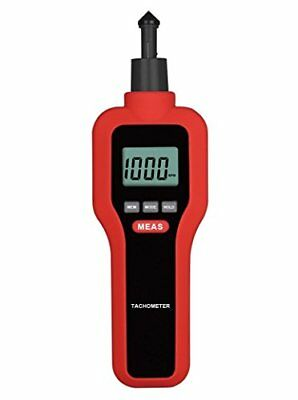 upHere Digital Contact/Non-contact Tachometer Handheld Rotating Speed Scale M...