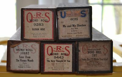QRS and US Piano Rolls