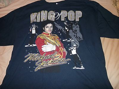 "Michael Jackson ""King Of Pop"" T Shirt Size 3XL Pre Owned"