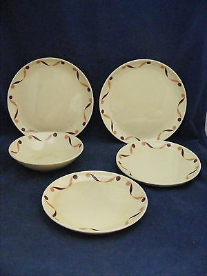 Lot of  Rare Cavett - Shaw W S George Neptune Dishes Bread Salad Fruit Plates