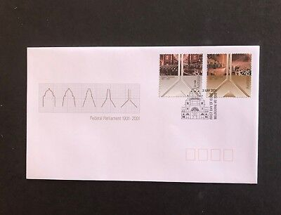 Australia 2001 Federal Parliament First Day Cover