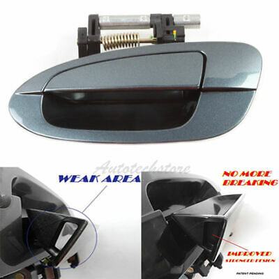 For 98-02 Honda Accord D086 Rear Right Exterior Outside Door Handle Non-Painted