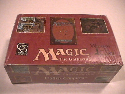 MTG Magic The Gathering Fallen Empires Factory Sealed 60-Pack Booster Box - Nice