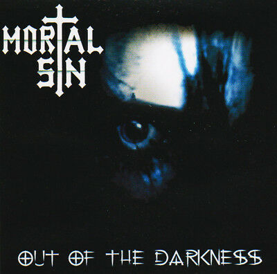 Mortal Sin Out Of The Darkness CD EP Australian Thrash Metal New