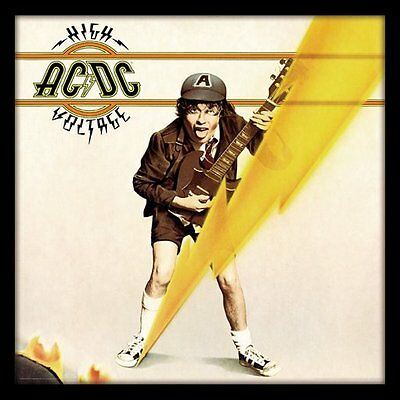 AC/DC - High Voltage - Framed Album Cover Print ACPPR48069