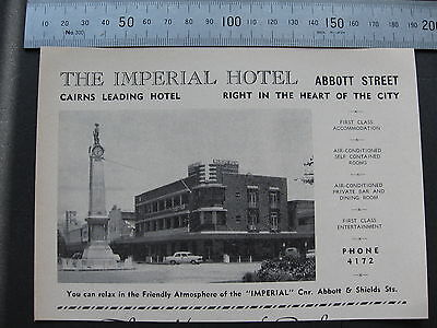 The Imperial Hotel Abbott St Cairns