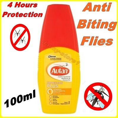 AUTAN Lotion Protection Plus Repellent - 100 ml.- Protection From Biting Flies