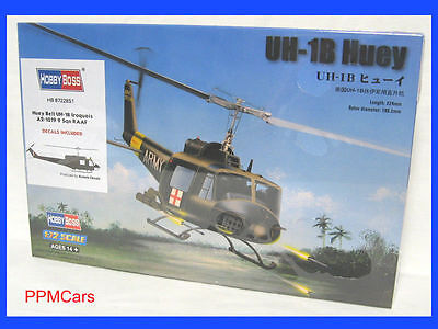 Huey Bell UH-1B Iroquois RAAF - 1:72 HELICOPTER