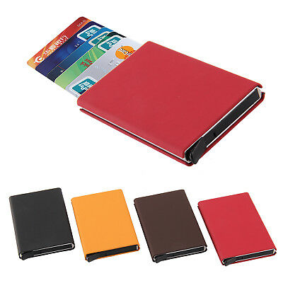 RFID Credit Card ID Slim Aluminium Holder Wallet Contactless Theft Protector