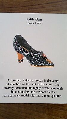 willow hall ornamental shoes, set of twelve, boxed, with certificates