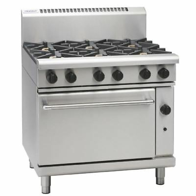 Waldorf by Moffat 6 Burner Natural Gas Oven Range RN8610G