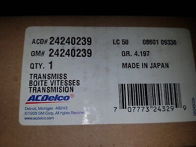 AC Delco Automatic Transmission Filter New Chevy Chevrolet Equinox 24240239