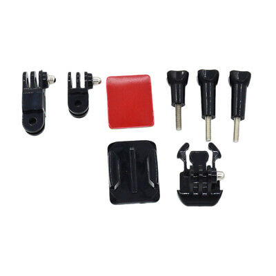 8 in 1 Accessories Kit Action Camera Helmet Side Base Mount for GoPro 4 3 2