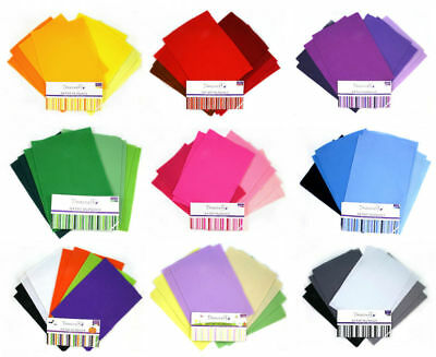 A4 Dovecraft Felt Sheets Multipack Assorted Tonal Colours-Pack of 8, FREE DELIV.