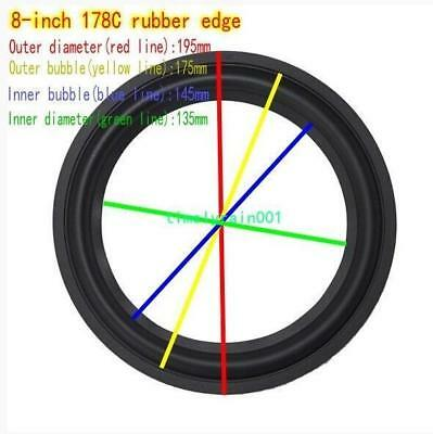 "1pcs 8"" inch Speaker rubber Edge Speaker surround repair DIY 178C/K11/K12/178A"