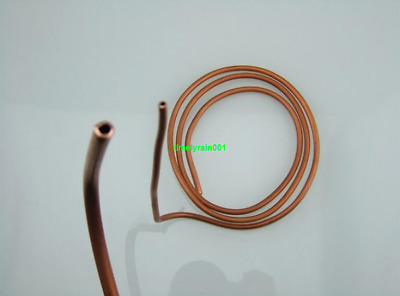 1pcs 1M 6mm*4mm Soft copper tube Notebook water cooling copper pipes Capillary