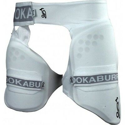 25.99  NEW Kookaburra Pro 500Cricket Leg Guards Batting Shorts RH  mens FREEPOST