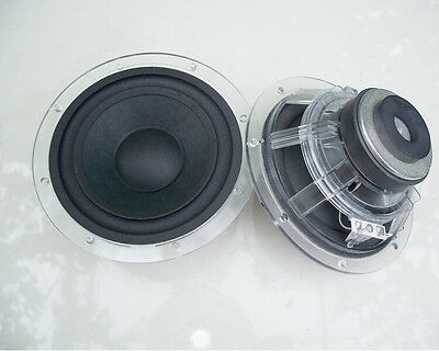 "2pcs 6"" inch 5Ohm 5Ω 20W Crystal subwoofer Speaker Loudspeaker for harman/Kardon"