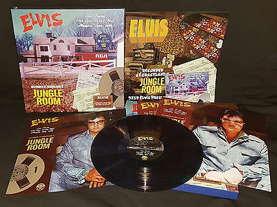 Elvis Collectors - Jungle Room on 3764 Elvis Presley Blvd (3 LP + 2CD set) Blue