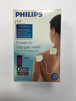 Philips Tens Relief Wireless Electrotherapy 15TENS 5EMS iOS Android App PR3093