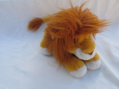 AUTHENTIC 1993 Disney THE LION KING ROARING SIMBA hand PUPPET PLUSH DOLL HE ROAR