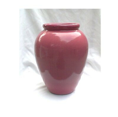 Robinson Ransbottom 139 Pink Rose Floor Vase 12""