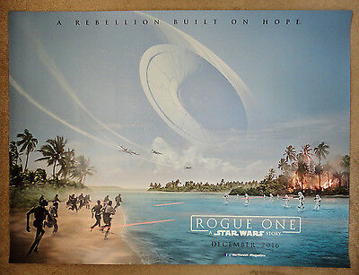 Rogue One: A Star Wars Story(2016),Original UK Cinema Advance Quad Poster 30x40""