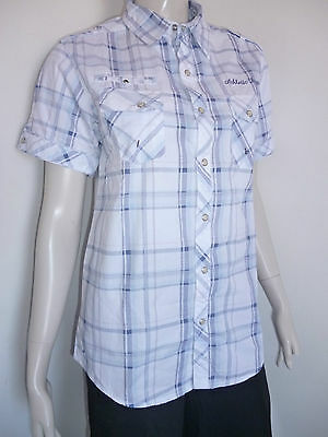 chemise ecossais boutons pressions KABEEN taille M