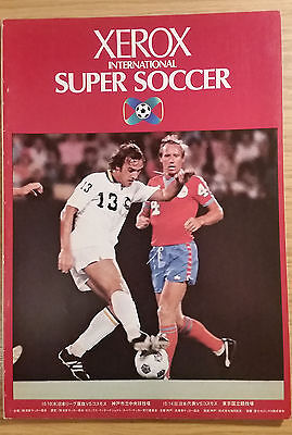 1979 Xerox Cup Programme - Japan v New York Cosmos
