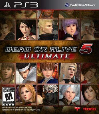 Dead or Alive 5 Ultimate - PS3