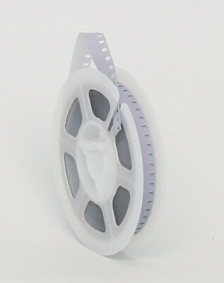 NEW KODAK 8mm Movie Film Leader 50 ft Reel - WHITE/CLEAR