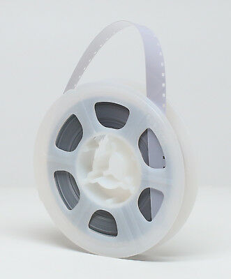 NEW KODAK Super 8mm Movie Film Leader 50 ft Reel - WHITE/CLEAR