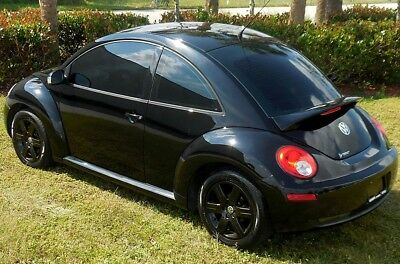 2007 Volkswagen Beetle-New SWEET BLACK PEARL EDT~HEATED SEATS~SUNROOF~59K CUSTOM WHEELS/SPOILER~SVC HISTORIES~CARFAX CERT~MONSOON SOUND~AUTOMATIC~WOW!!!