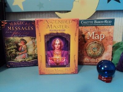 One Card Psychic Oracle Tarot Card Reading Life Love Spiritual Questions