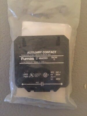 New In Package Furnas Auxiliary Contact 49Acr0 Ser. C
