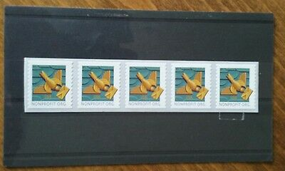 Usa 2011 Deliver Mail Coil Of 5 Stamps   Mnh