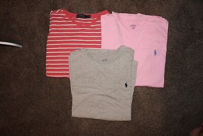 POLO Ralph Lauren LOT OF TEES SIZE LARGE