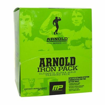 MusclePharm Arnold Series Iron Pack - 30 Packs Multivitamin All-in-One, Komplex