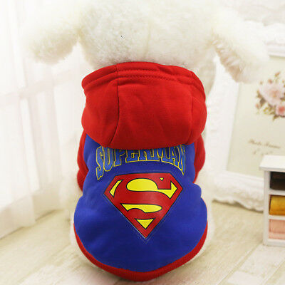 Small Dog Hoodie Sweater Warm Pet Puppy Jumper Clothing Cat Coat Jacket Outfit