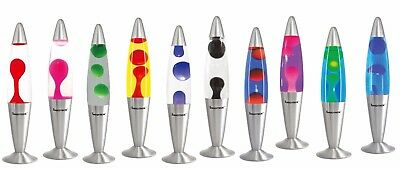 Lava Lamp Wax Motion in Rocket Shape Retro Design Novelty Lighting HIGH QUALITY