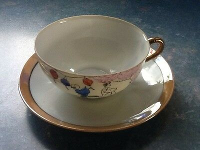 Cup And Saucer, Made In Japan