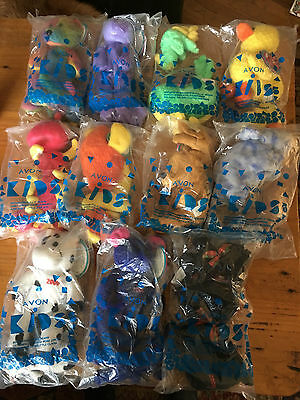 Avon Kids Birthstone Millennium Full O' Beans Stuffed Animals Lot
